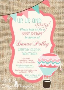 Danae Polley Baby Shower Invite 1