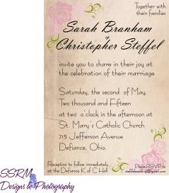 Steffel Wedding Invites