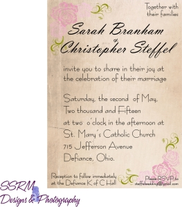 Steffel Wedding Invites