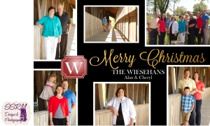 Wiesehan Family Christmas Cards 2015
