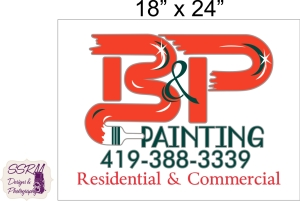 B&P Painting Sign 1