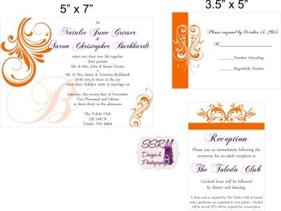 Grieser Burkhardt Wedding Invites 1