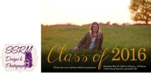 Bekah Eggers Graduation Invitation 2016