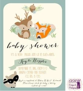 Kayla Noggler Baby Shower Invitations 1