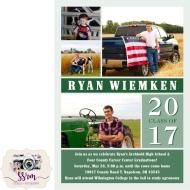 Ryan Wiemken Graduation Invitation