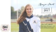 Kenzie Short Graduation Invitations 1