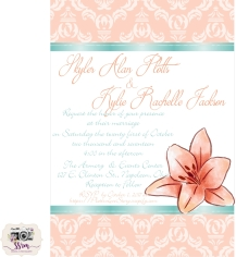 Kylie Jackson Wedding Invitations