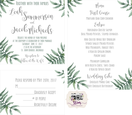 Lauren Beers Styled Shoot Invitations