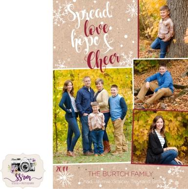 Burtch Christmas Card 2017