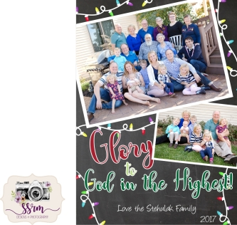 Stehulak Family Christmas Cards 2017 1