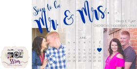 Tyler & Olivia Kossow Save The Dates 1