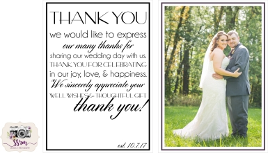 Dailyn Reese Wedding Thank You's 2018 1
