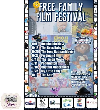 Skye Cinema Family Film Festival 2018
