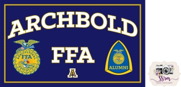 Archbold FFA Sign