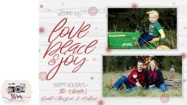 Christine Wheeler Christmas Card 2018