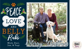 Mick & Dori Christmas Card 2018