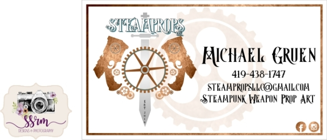 steamprops business cards