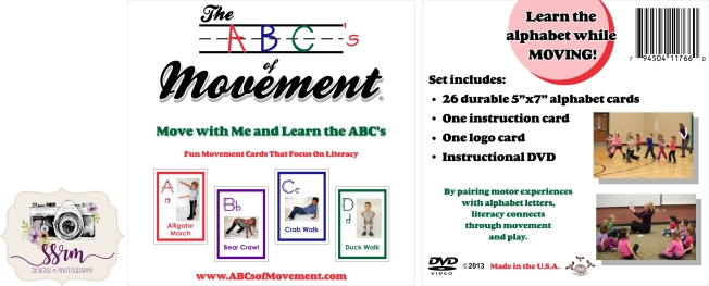 the abc's of movement dvd case art