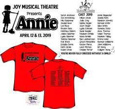 Homeschool Co-Op Annie Musical 2019