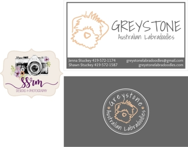 Greystone Australian Labradoodles Business Cards