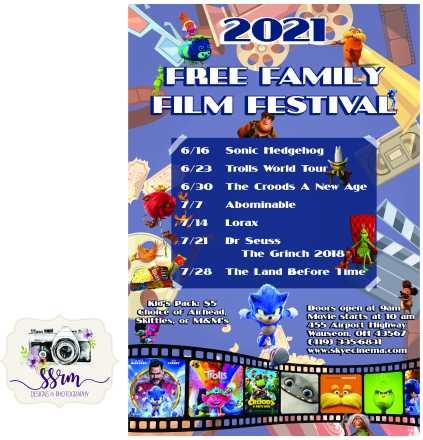 Skye Cinema Family Film Festival 2021